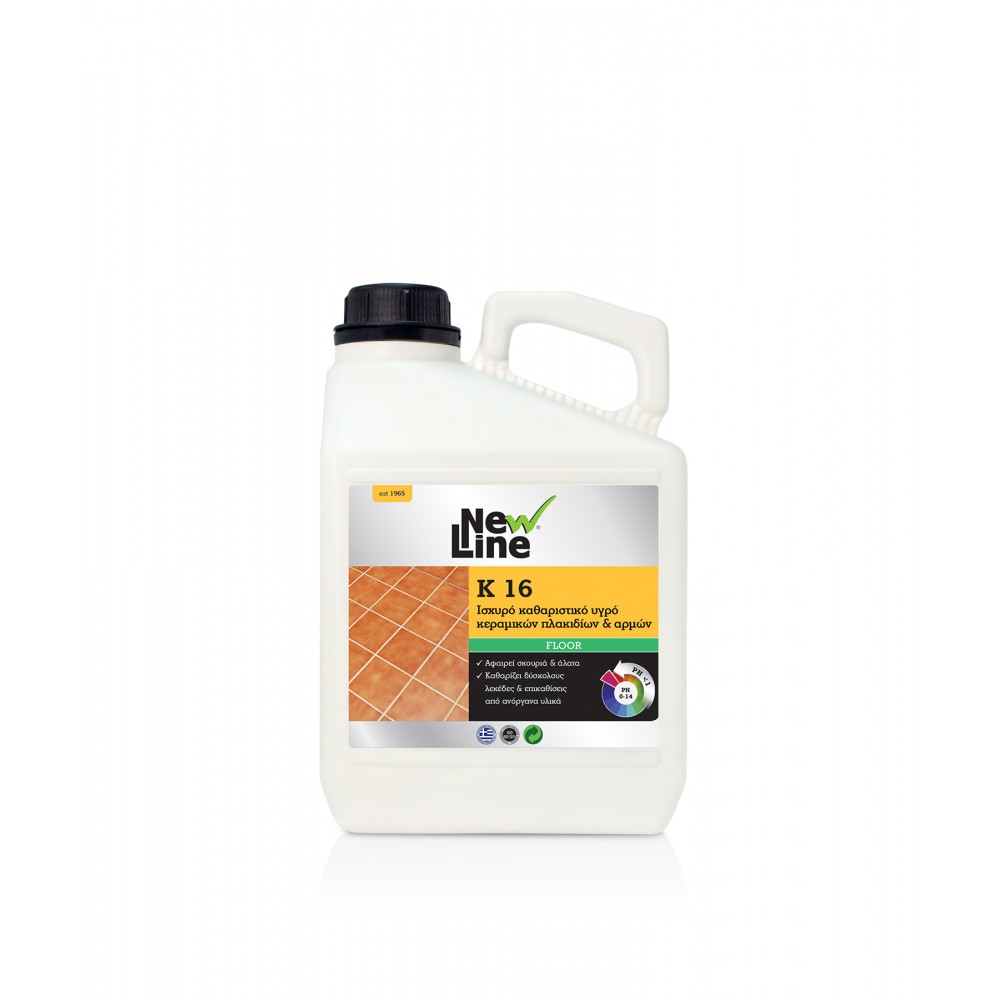K-16 - Powerful cleaning liquid for ceramic tiles & joints  3L