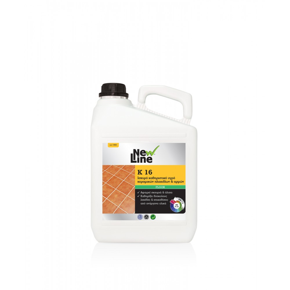 K-16 - Powerful cleaning liquid for ceramic tiles & joints  5L